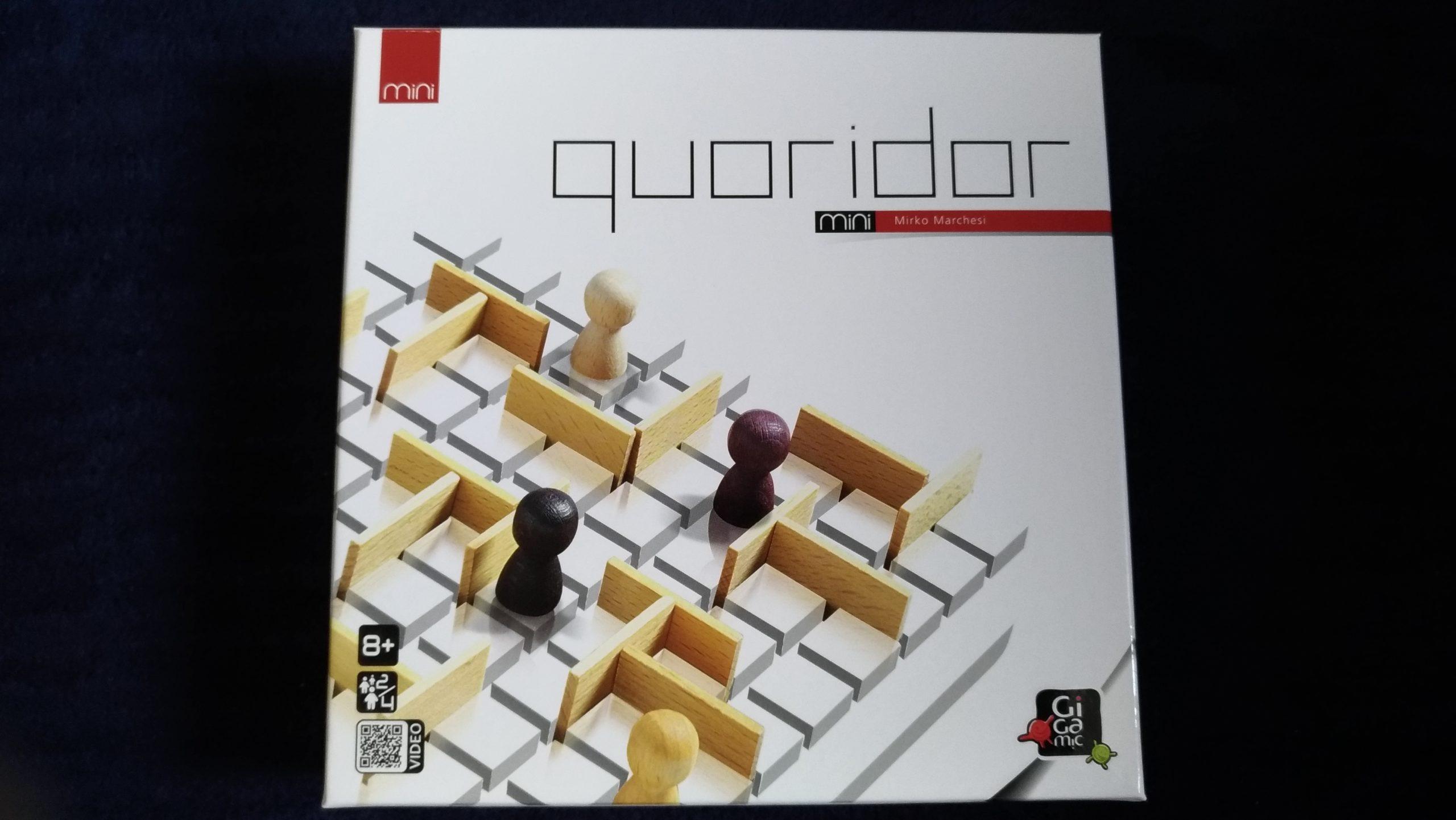 【ボドゲ紹介】quoridor mini(コリドールミニ)